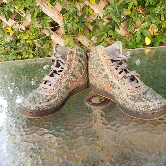 Nike vintage Harris Tweed sneakers